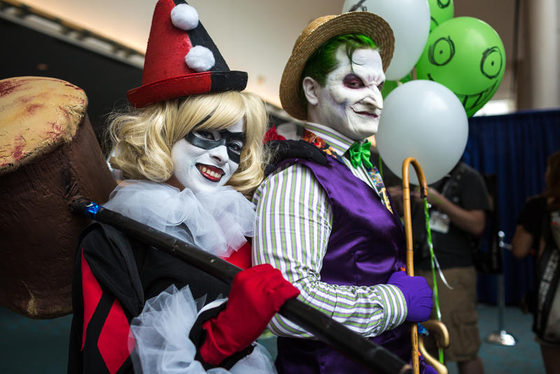 SDCC Joker and Harley: Amusement Mile! by Enasni-V