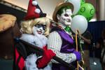 SDCC Joker and Harley: Amusement Mile!