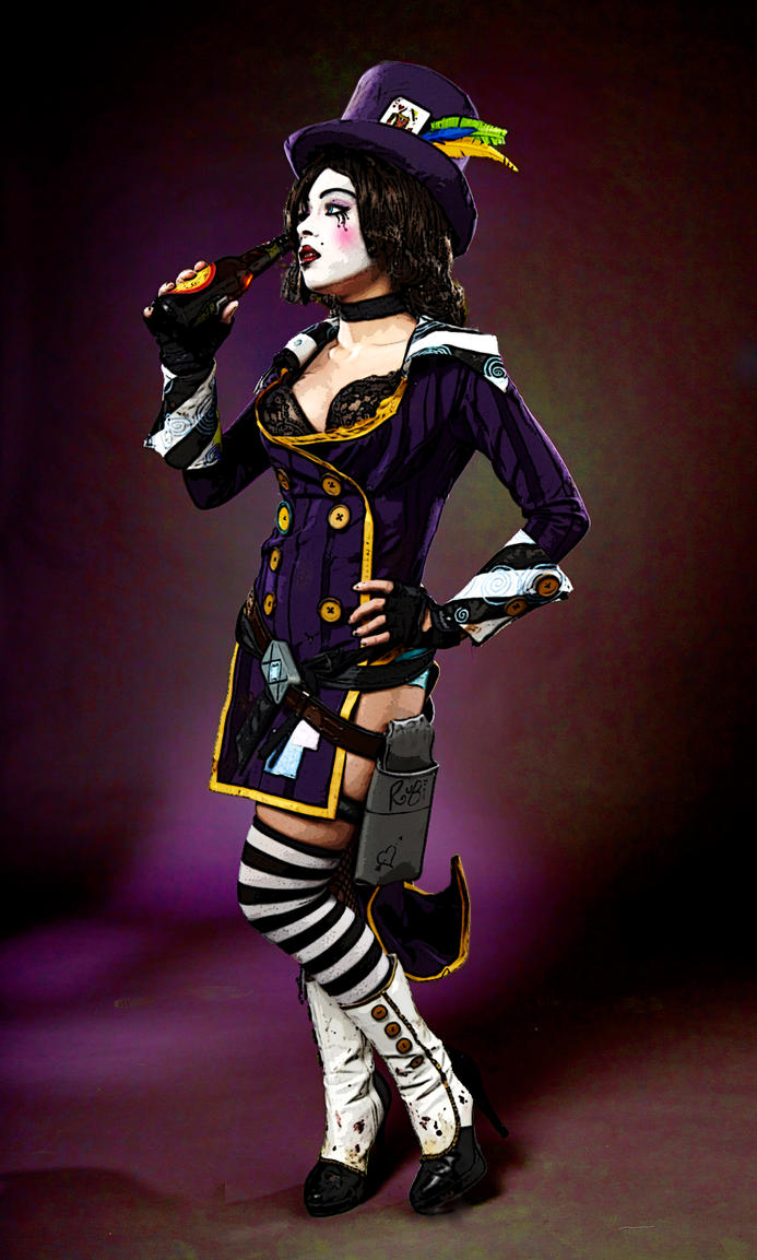 Mad Moxxi - Its been a long day, Sugar. by Enasni-V