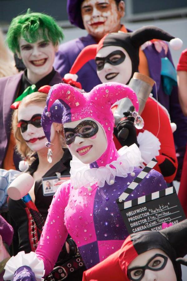 Hollywood Harley Quinn - Glamorous Grin by Enasni-V