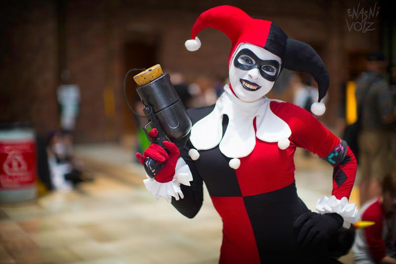Harley Quinn - Gorgeous Grin by Enasni-V