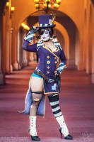Mad Moxxi - On the Prowl by Enasni-V