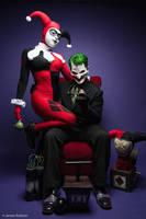 Joker and Harley Quinn by Enasni-V