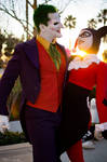 Joker and Harley Quinn - Villain Royalty
