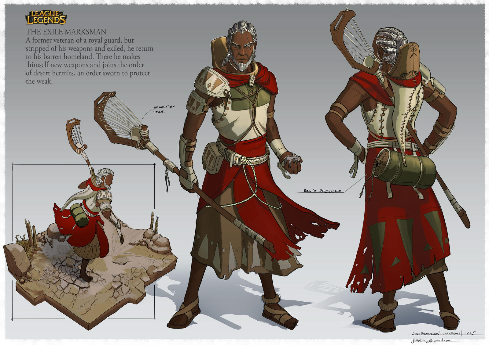 League Of Legends Character Design Contest : Marksman champion project by caconymdesign on deviantart