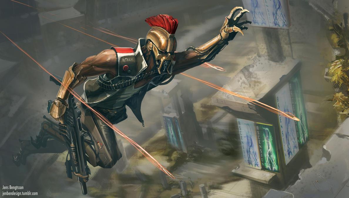 Cyborg Collosseum by Rubisko