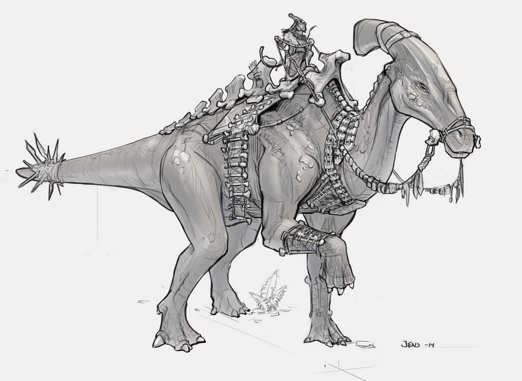 Dino 2 by Rubisko