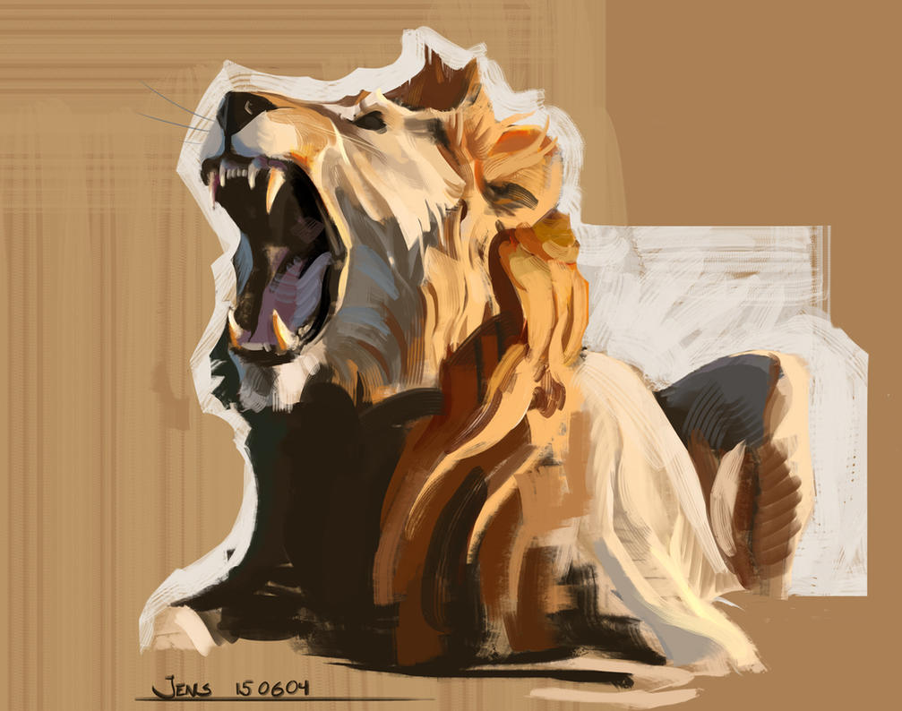 Sketchbook - Colour and Light(Lion) by Rubisko