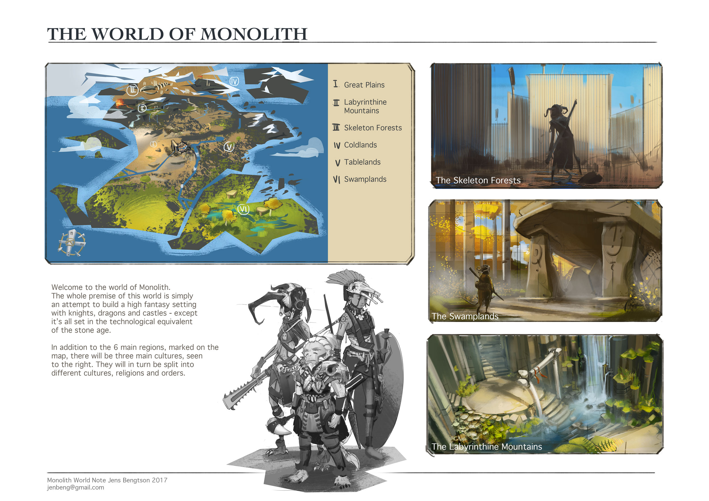 WorldNote: Overview by CaconymDesign