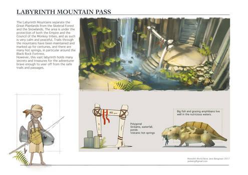 WorldNote: Labyrinth Mountains