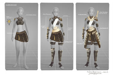 Rider Armour Breakdown by CaconymDesign