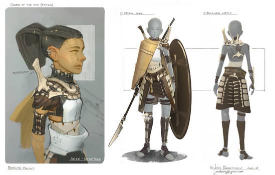 SunKnights - Rider Armour