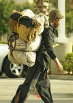 Traveling Man Homeless Man