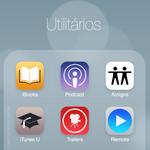 iOS 7 Mockup - Utilitarios