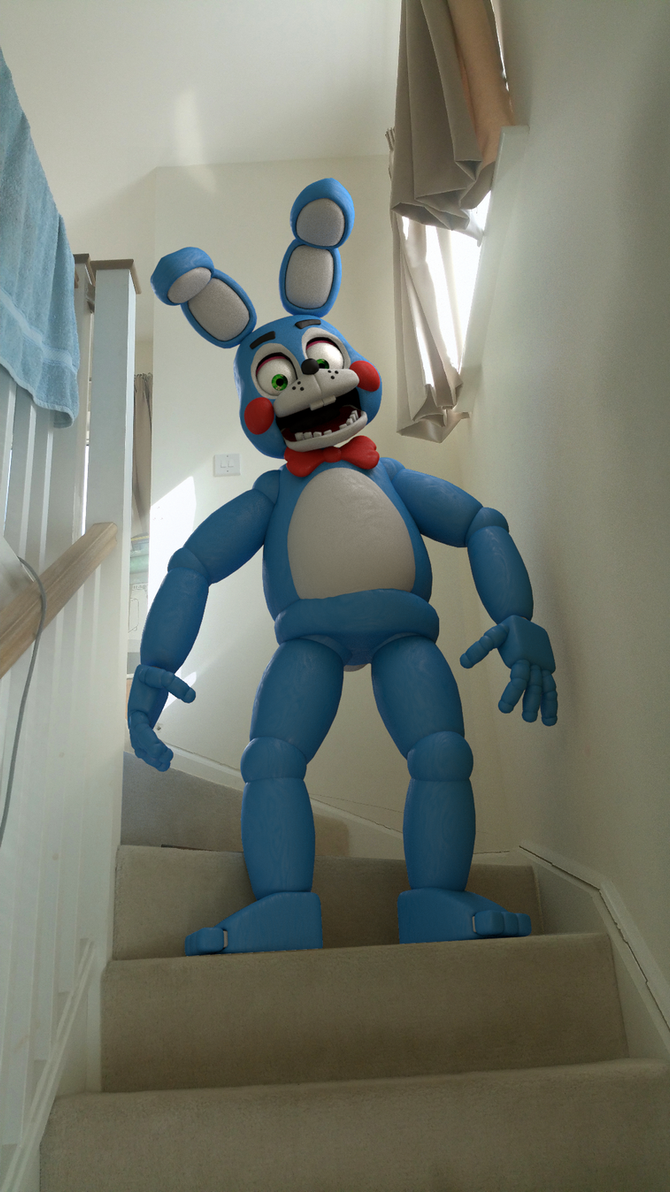 Toy Bonnie In Real Life By Ticktockgj On Deviantart