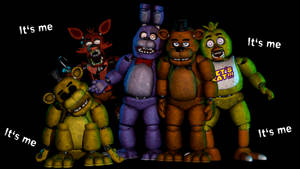 Happy Birthday Five Nights at Freddy's by TickTockGJ