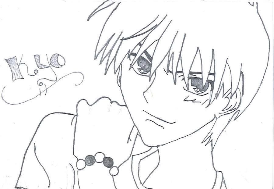 kyo coloring pages - photo#3