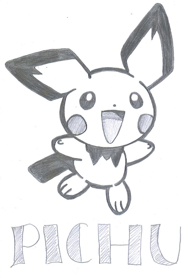 Pokemon - Pichu by Birdy23445 on DeviantArt