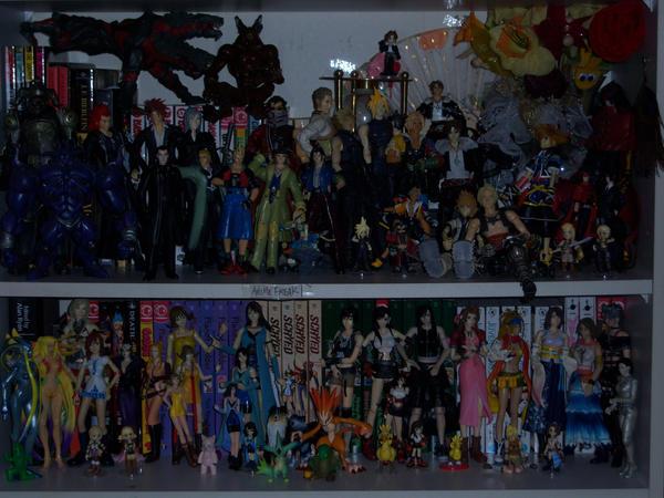 FinalFantasy Figure Collection by FenrisFenrir89