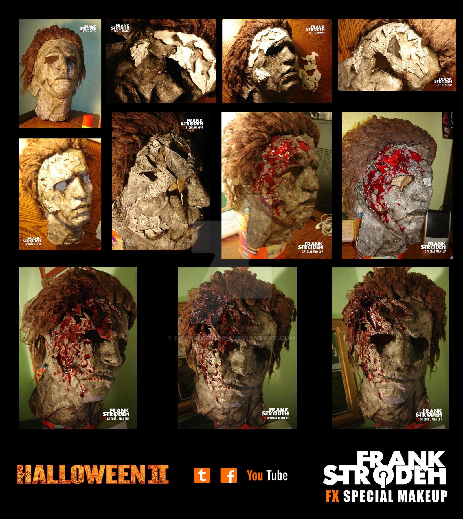 FRANK STRODEH) HALLOWEEN II Michael Myers Mask by frankstrodeh on ...