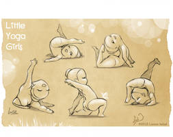 .:Little Yoga Girls:. by Loisa