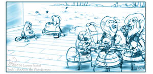 Tea time by Loisa