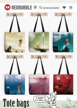 Cromalinas tote bags