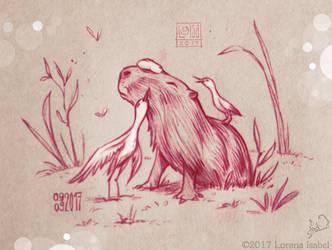 Capybara by Loisa