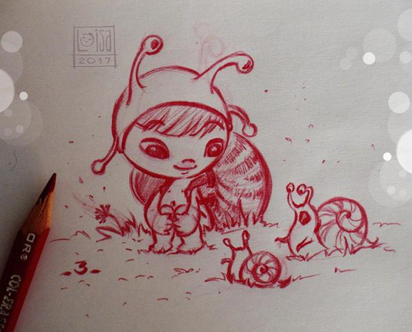 Like a Snail by Loisa