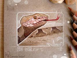 18 - Snake by Loisa