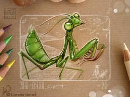 20 - Mantis by Loisa