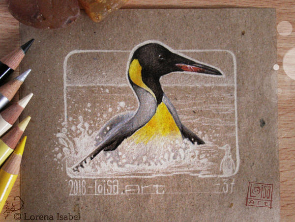 37 - King Penguin - by Loisa