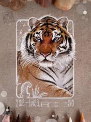 50 - SiberianTiger by Loisa