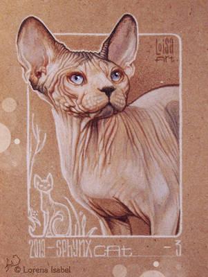03 - Sphynx Cat by Loisa