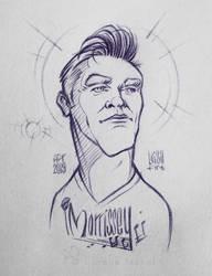 Morrissey by Loisa