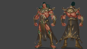 Original concept character design by Tin-Z