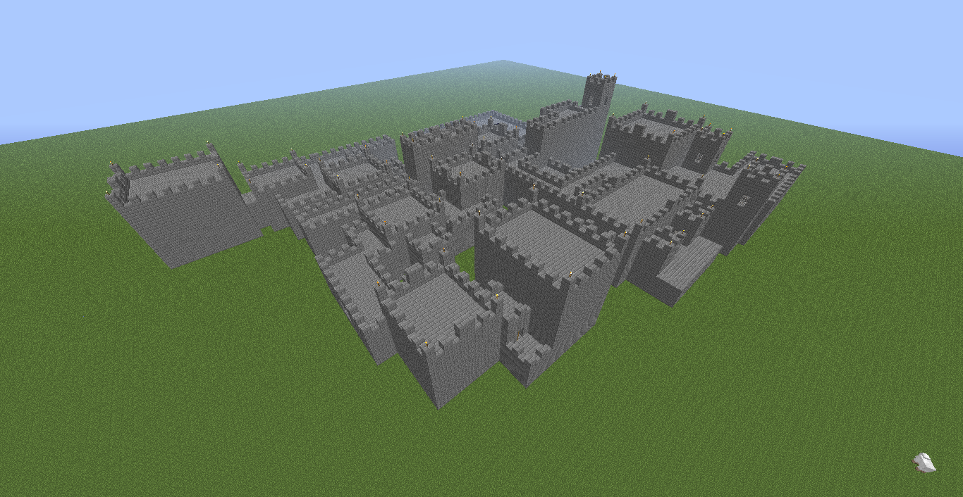 How To Build A Stronghold In Minecraft