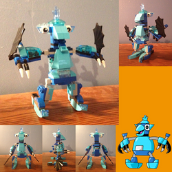 Timscorpion 14 3 Mixels Frosticon Mega Max By