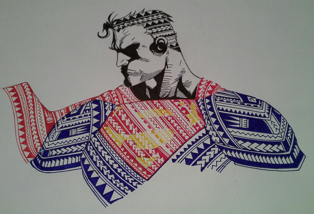 Superman Polynesian Style by Anatar97133