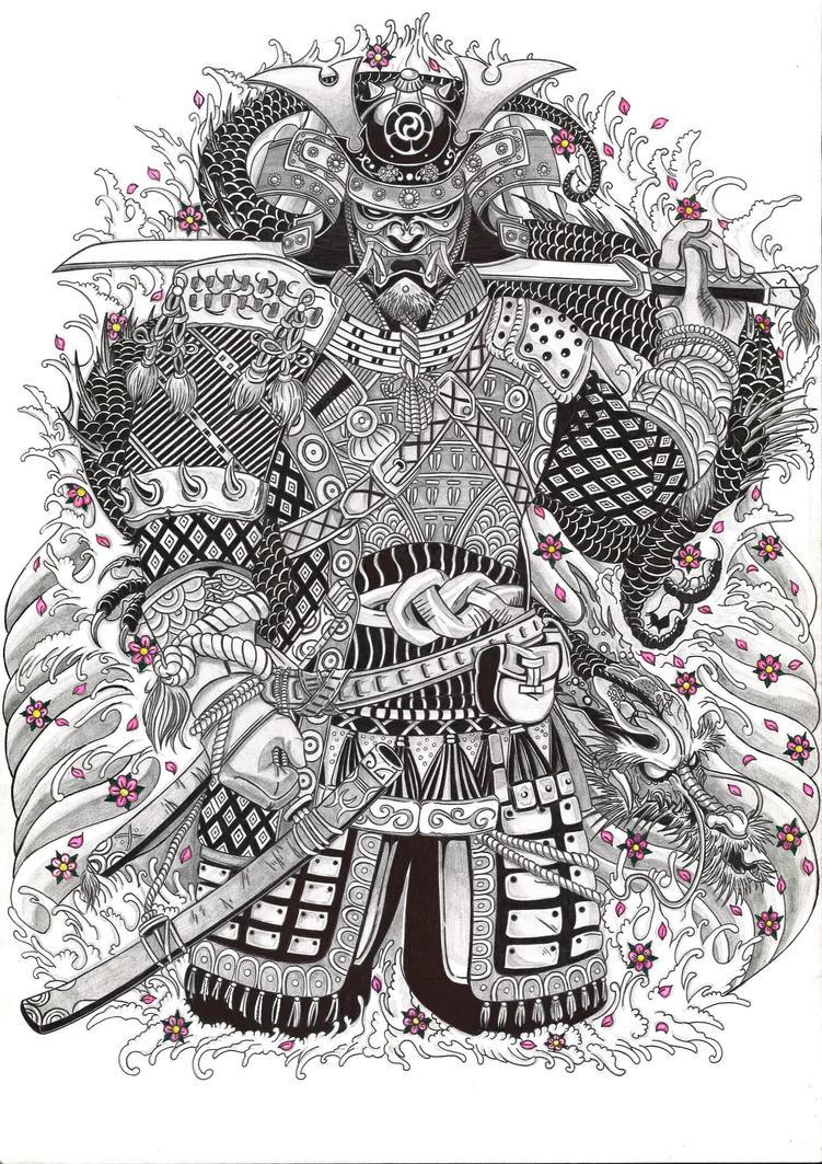 Japanese Samourai by Anatar97133