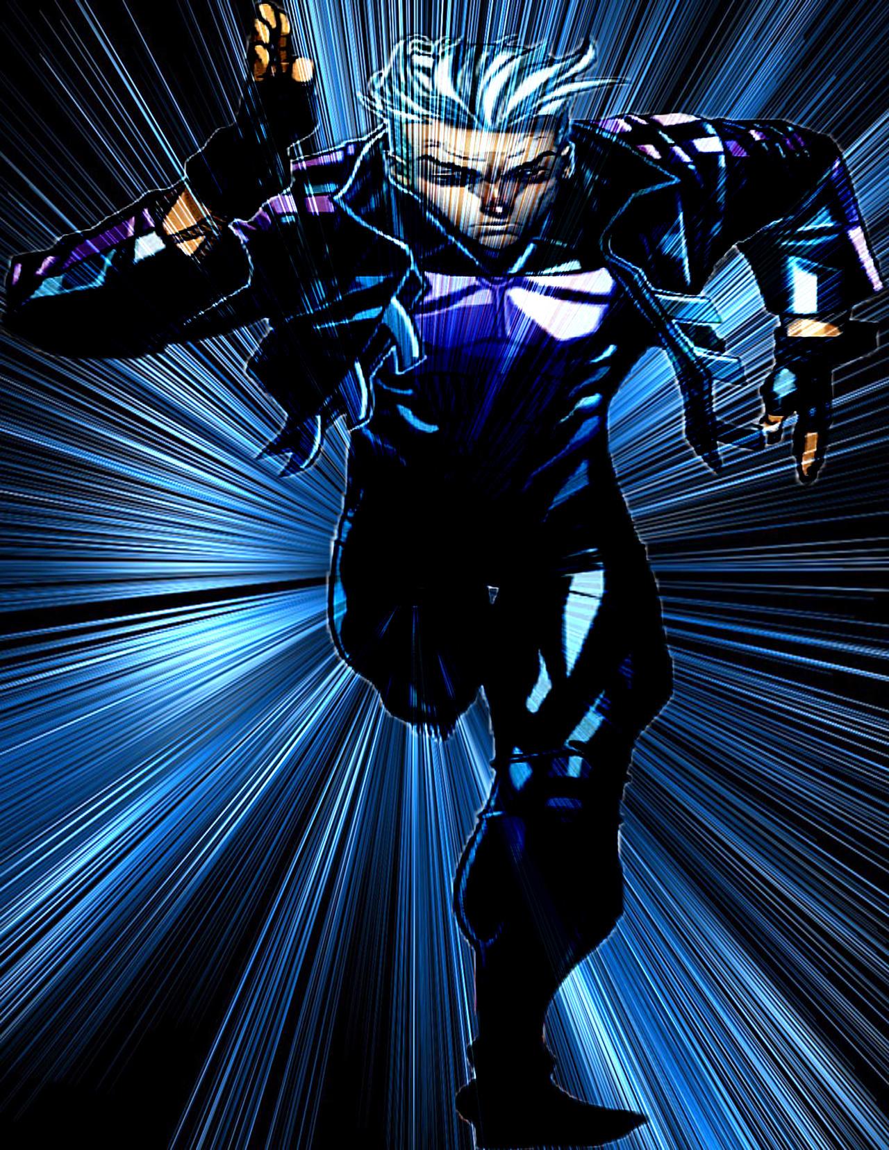 ultimate quicksilver speed warp blue by vortexsonic on