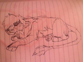Shaha Lion Male Teen by THExALEU12