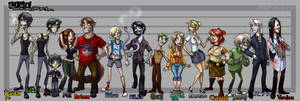 Crux: Character Lineup A