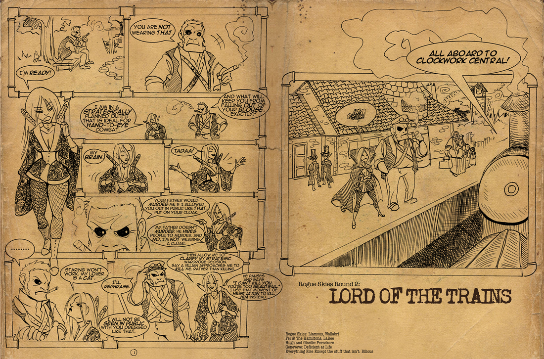 RS: Lord of the Trains 1-2 by Bilious