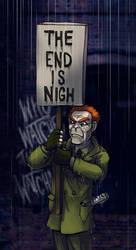Watchmen: Workin' in the rain by Bilious