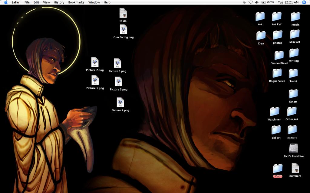 June 09 desktop by Bilious