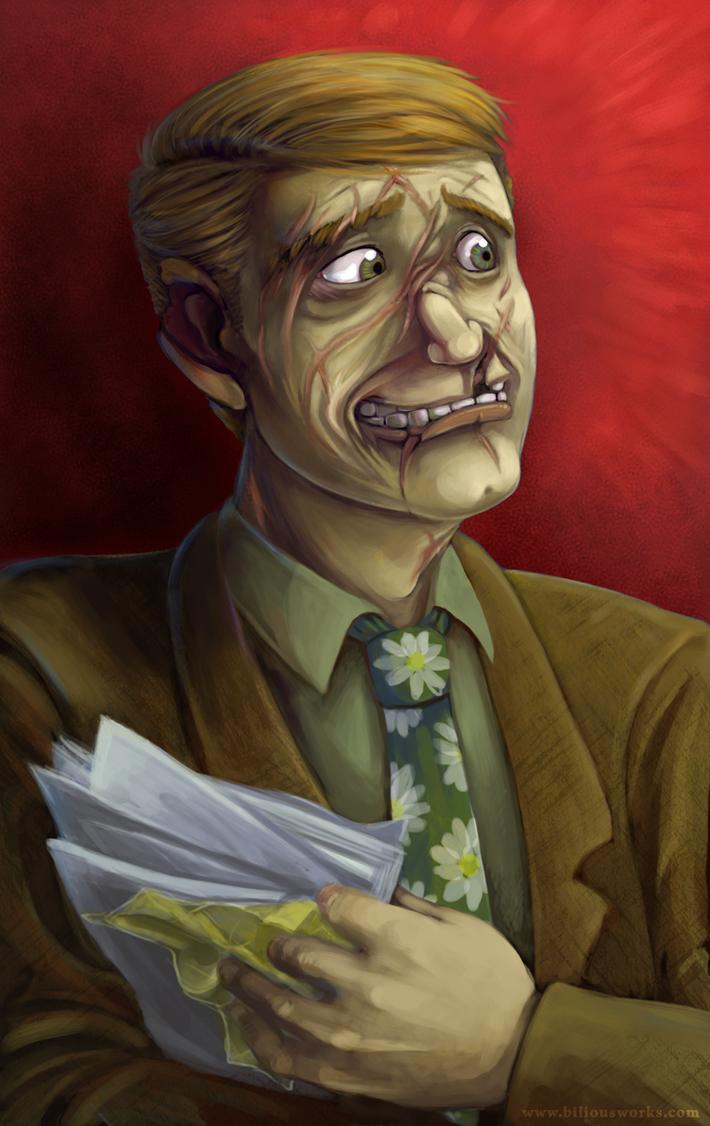 Crux: Peter Portrait by Bilious