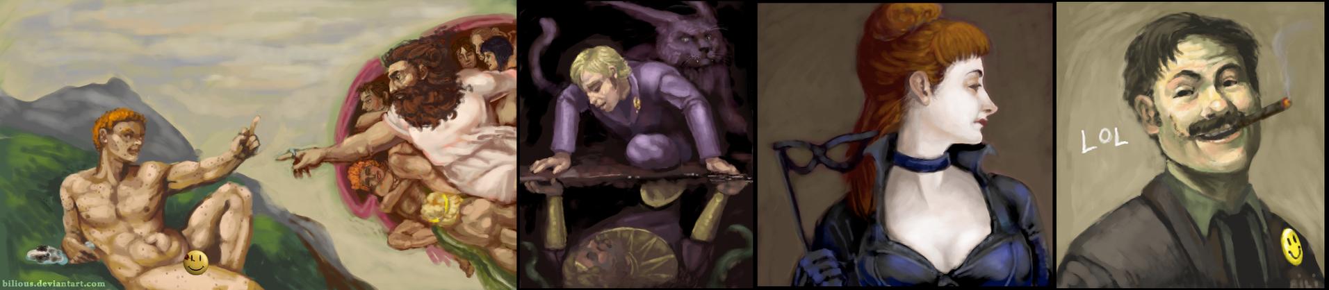Fine Art Watchmen by Bilious