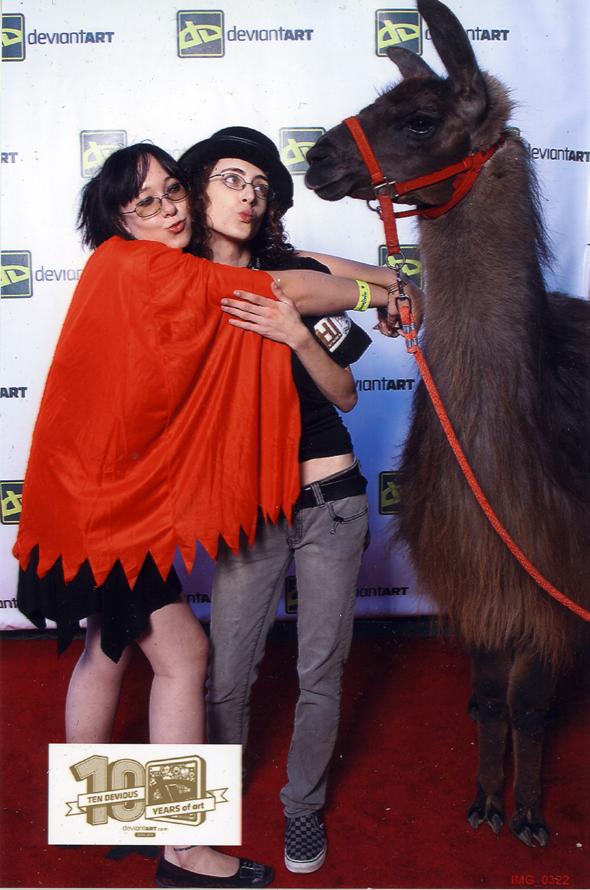 Llama Sluts by Bilious