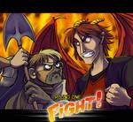 Hunchback vs. Dragon GO GO GO